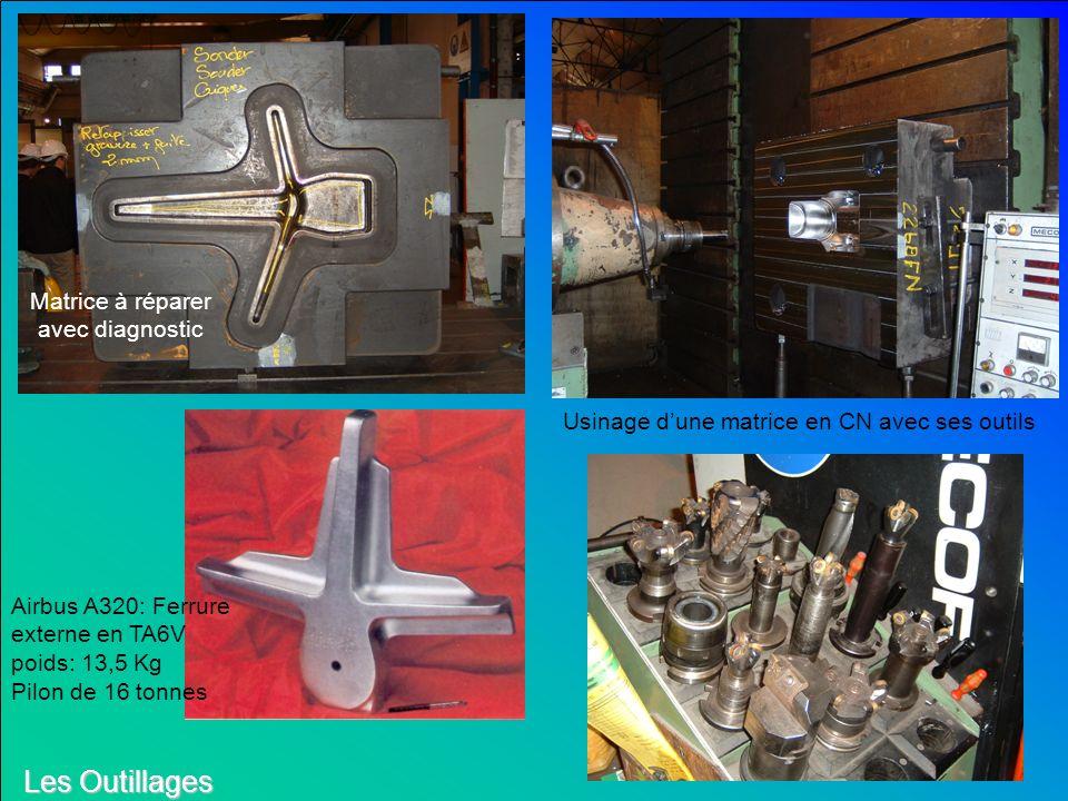 Les Outillages : Les gravures sont réalisées par : - Usinage conventionnel et polissage. - Usinage à grande vitesse. - Électroérosion pour des petites