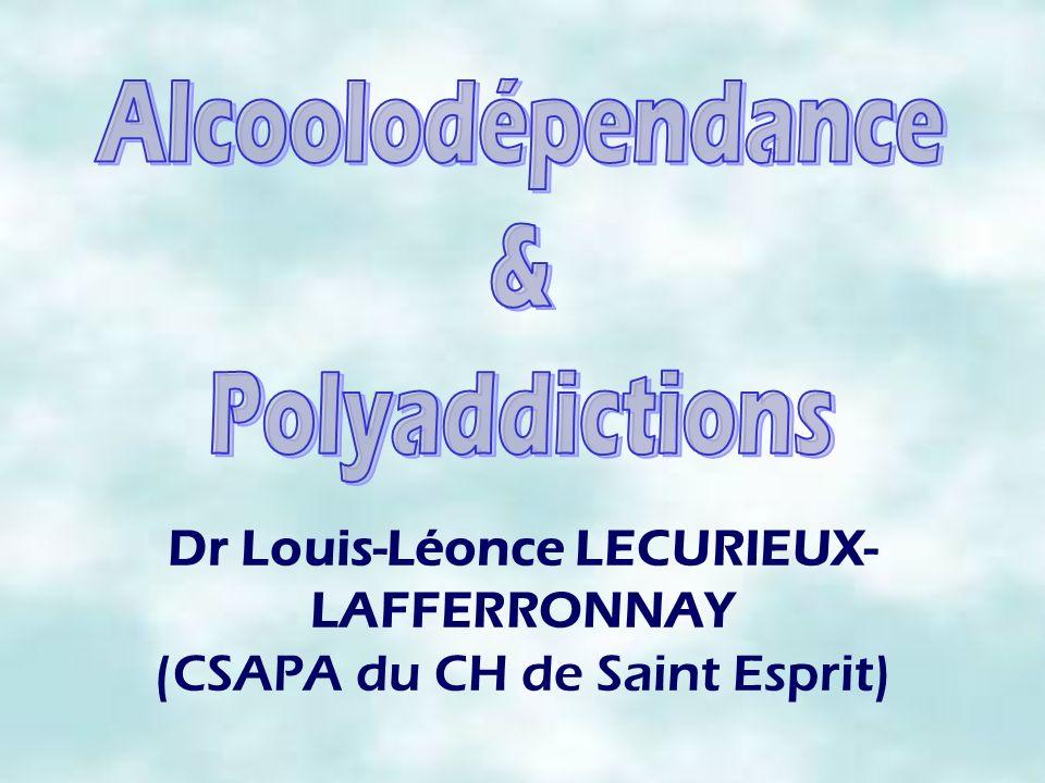 Dr Louis-Léonce LECURIEUX- LAFFERRONNAY (CSAPA du CH de Saint Esprit)