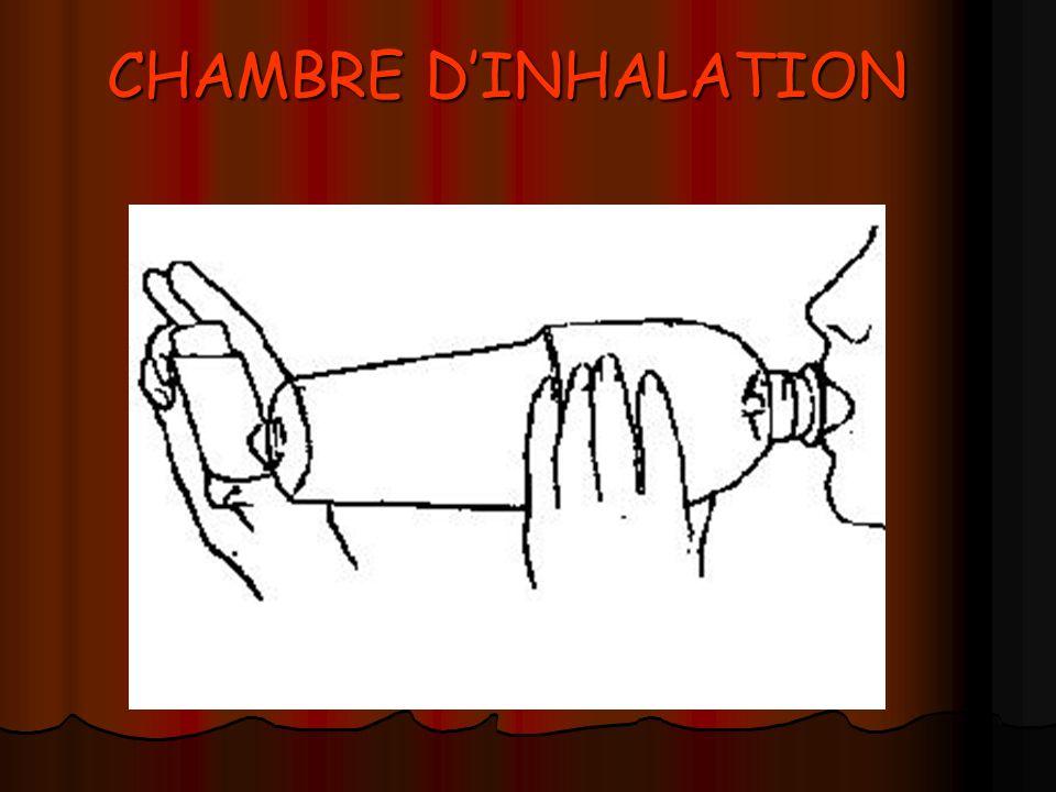 CHAMBRE DINHALATION