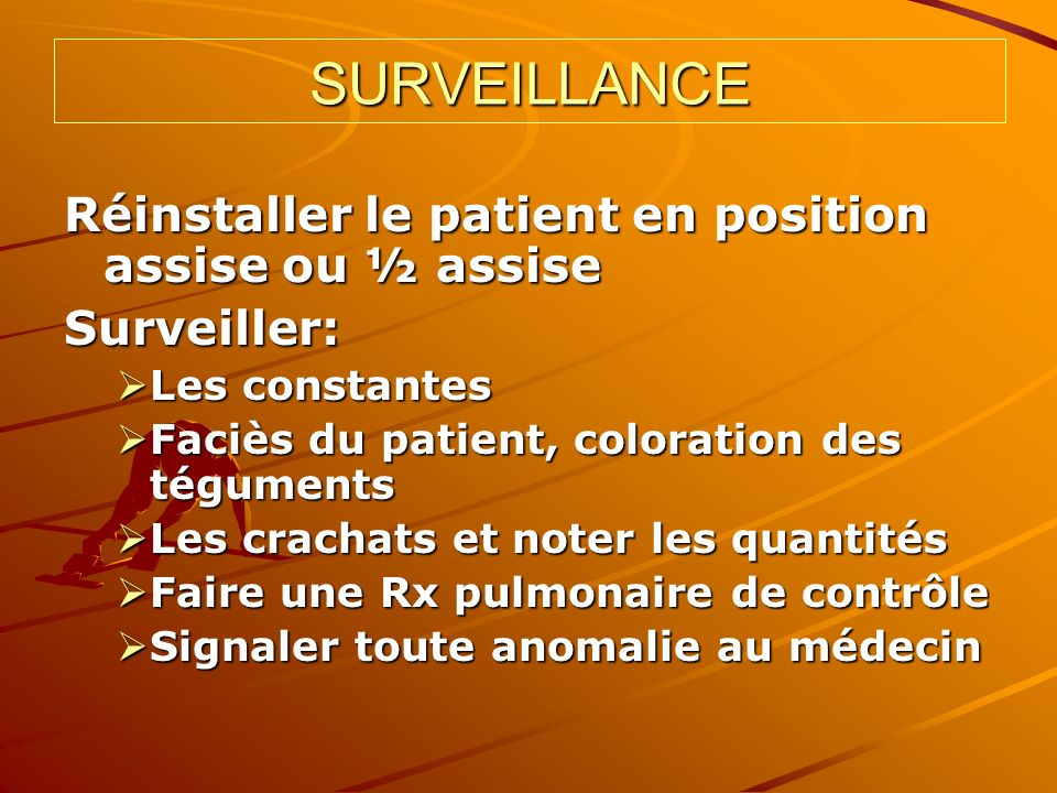 INCIDENTS ET ACCIDENTS Ponction blanche Ponction blanche Hématome pariétal Hématome pariétal Lipothymie, cyanose Lipothymie, cyanose OAP, toux OAP, toux Pneumothorax Pneumothorax Hémoptysie passagère Hémoptysie passagère