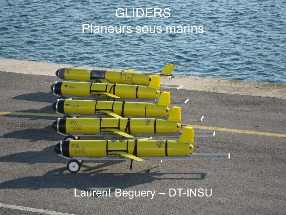 Laurent Beguery   Insu – La Seyne sur mer Sommaire Un planeur sous marin ??.