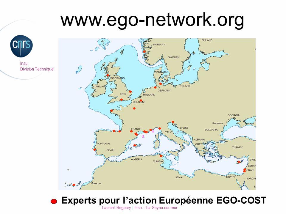 Laurent Beguery | Insu – La Seyne sur mer Experts pour laction Européenne EGO-COST www.ego-network.org