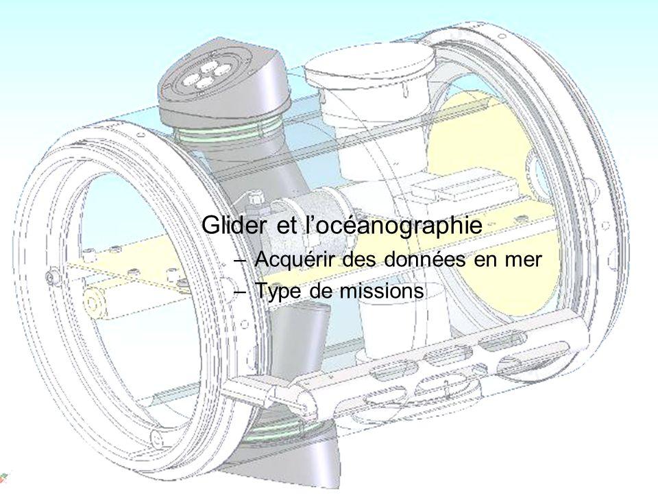 Laurent Beguery | Insu – La Seyne sur mer Glider et locéanographie –Acquérir des données en mer –Type de missions