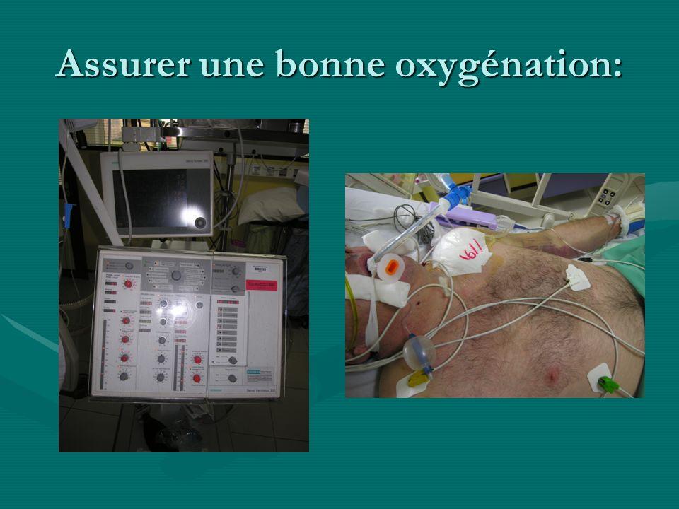 Assurer une bonne oxygénation: