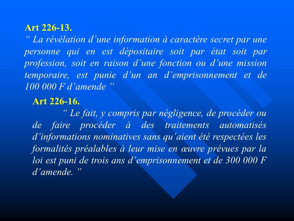 Art 226-13.