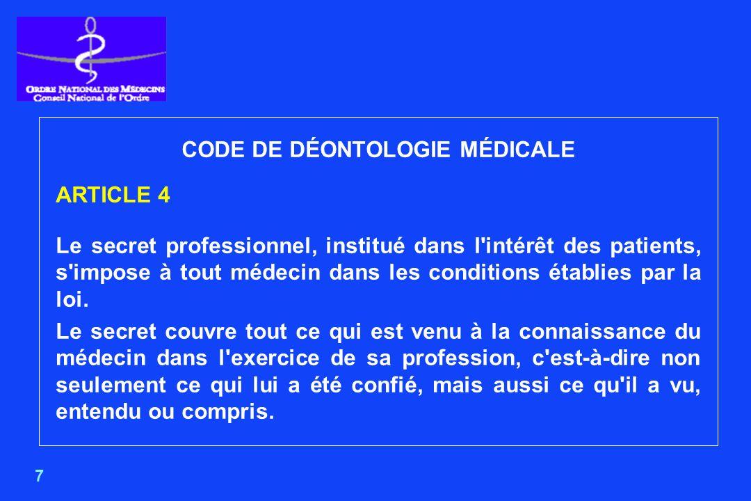 18 RESPONSABILITÉS DES DIM Décret n°94-666 du 27 juillet 1994 relatif aux systèmes dinformation médicale et à lanalyse de lactivité des établissements de santé publics et privés et modifiant le code de la santé publique.
