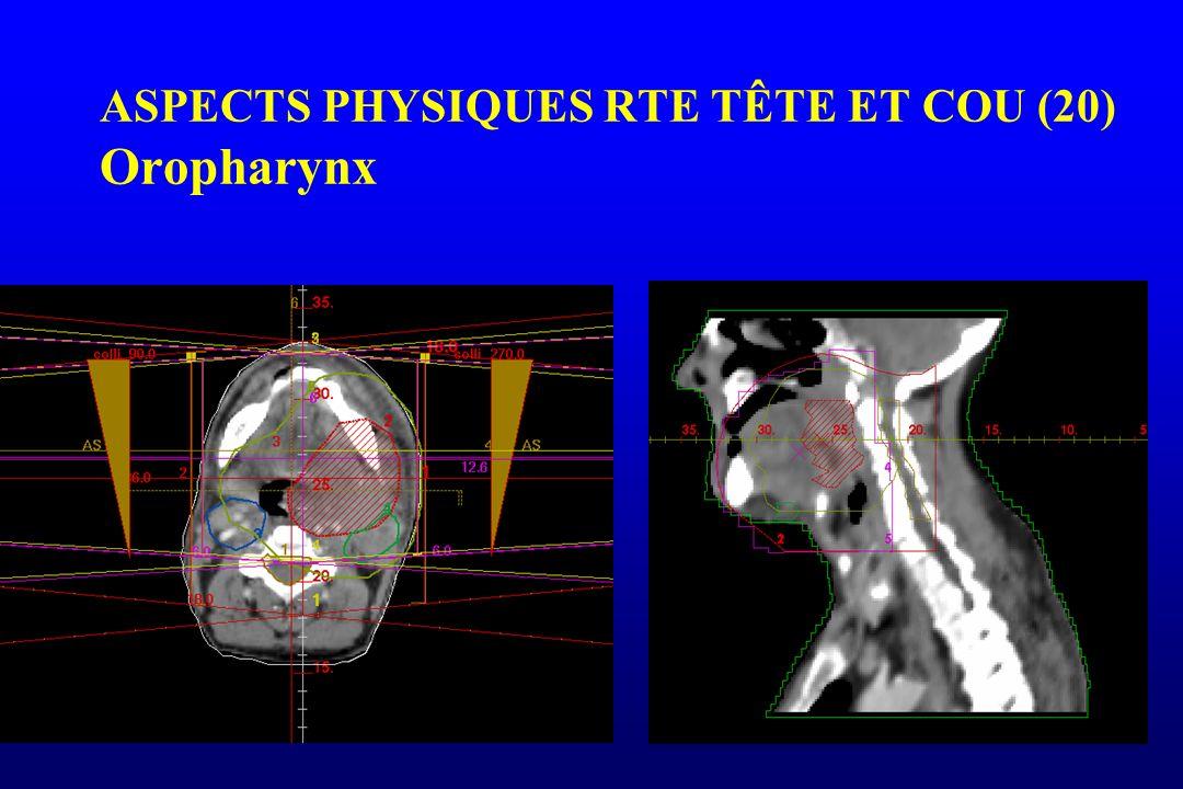 ASPECTS PHYSIQUES RTE TÊTE ET COU (20) Oropharynx