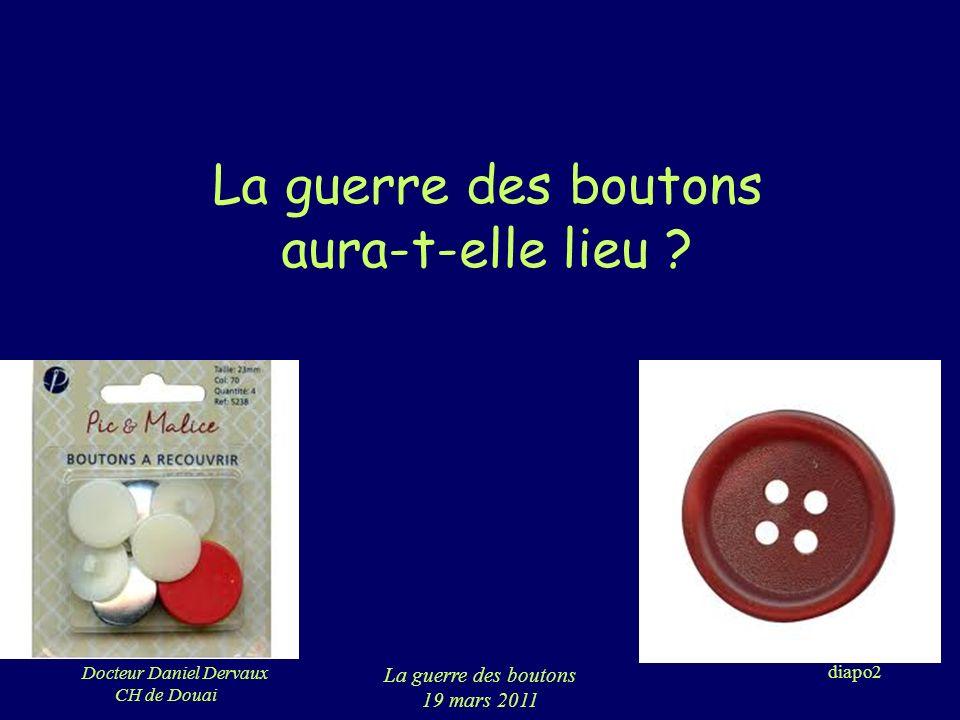 Docteur Daniel Dervaux CH de Douai La guerre des boutons 19 mars 2011 diapo3 Ce que je vois En période néo natale Par la suite …
