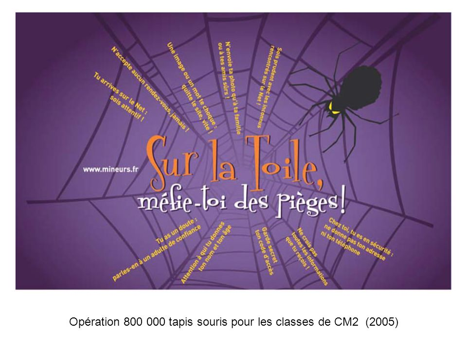 21 Mars 2006Académie de Toulouse - Rectorat - Mission TICE16 Séminaire académique de sensibilisation à la sécurité des systèmes dinformations Opératio