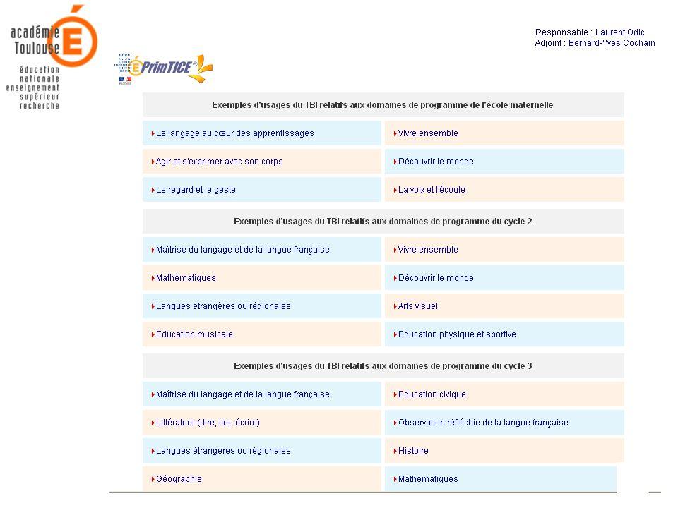 21 Mars 2006Académie de Toulouse - Rectorat - Mission TICE32