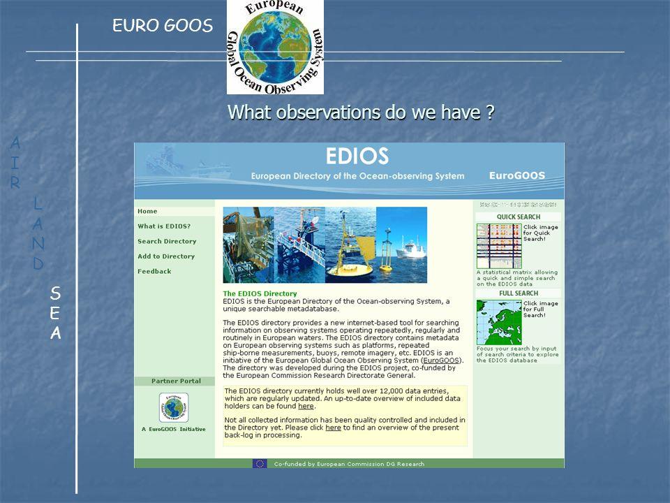 ESONET European Sea Observatory Network of Excellence LANDLAND AIRAIR SEASEA EMSO European Multidisciplinary Seafloor Observatory (listed In the European strategy forum on Research Infrastructure ESFRI) LIGURIAN SITE Mais aussi