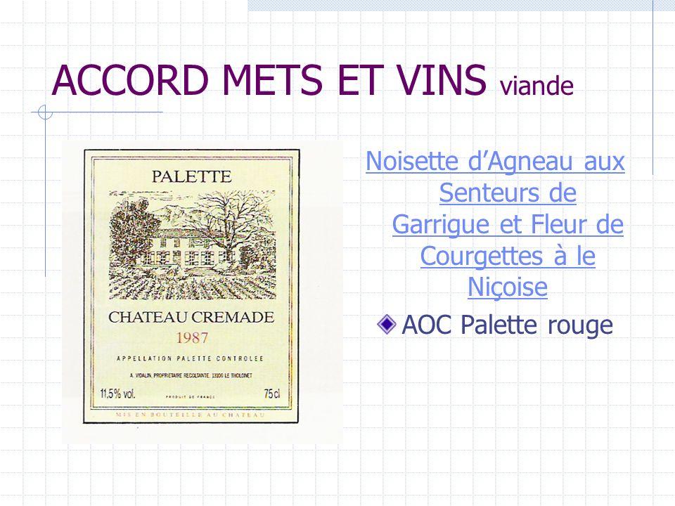 ACCORD METS ET VINS dessert Glace à la Lavande de Valensole Liqueur de Frigolet