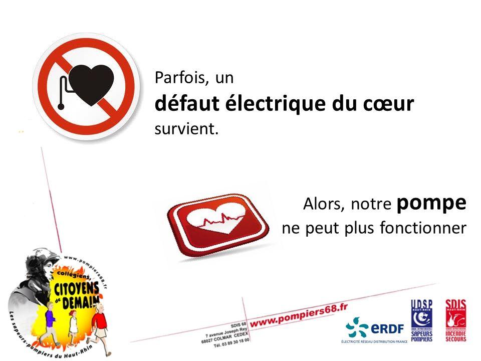 Le défibrillateur se trouve un peu partout… Mairies Gares Complexes sportifs Voie publique Centres commerciaux Ecoles