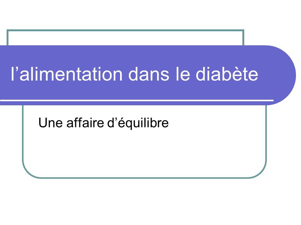 Dans le diabète de type 1 Les traitements actuels(basal bolus ou pompes) permettent ladaptation de la dose dinsuline du repas.