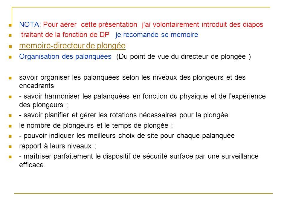 Paragraphe 4 Equipement des plongeurs Art.A. 322-80.