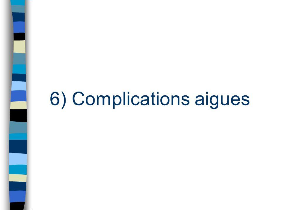 Complications foetales
