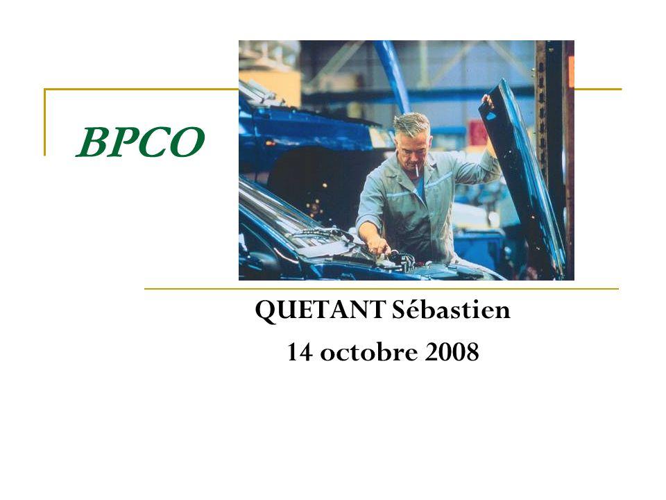 BPCO QUETANT Sébastien 14 octobre 2008