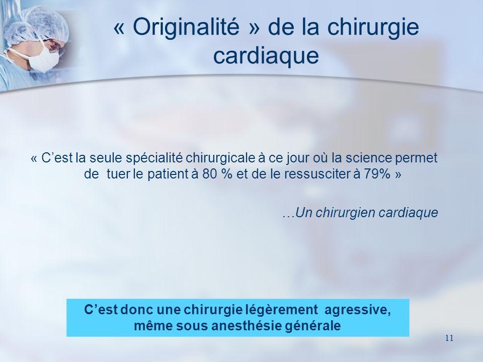 10 c) Chirurgie durgence Opération de sauvetage où lobligation de moyens ne préjuge pas de lobligation de résultats Possibilité dadmission directe au