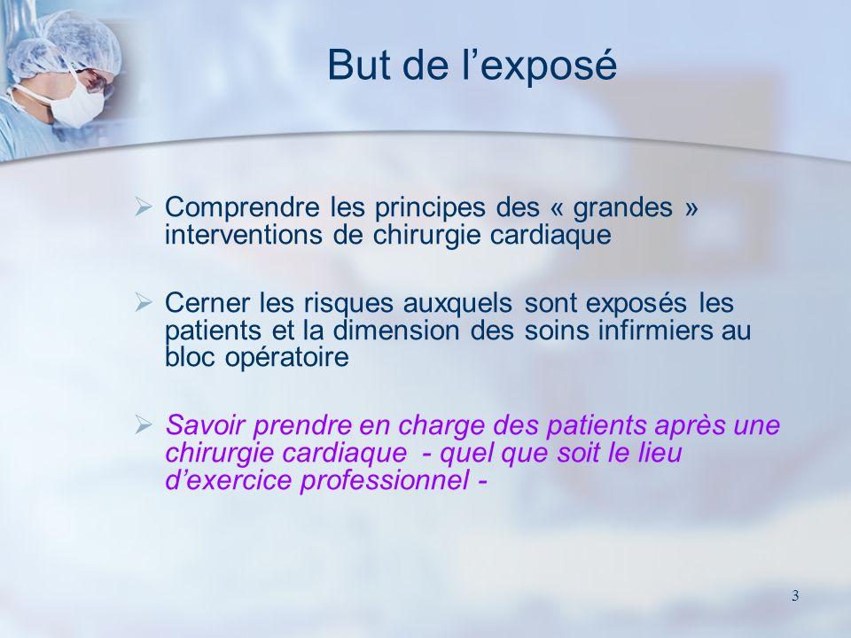 63 « Linfection est une complication EVITABLE de toute chirurgie.