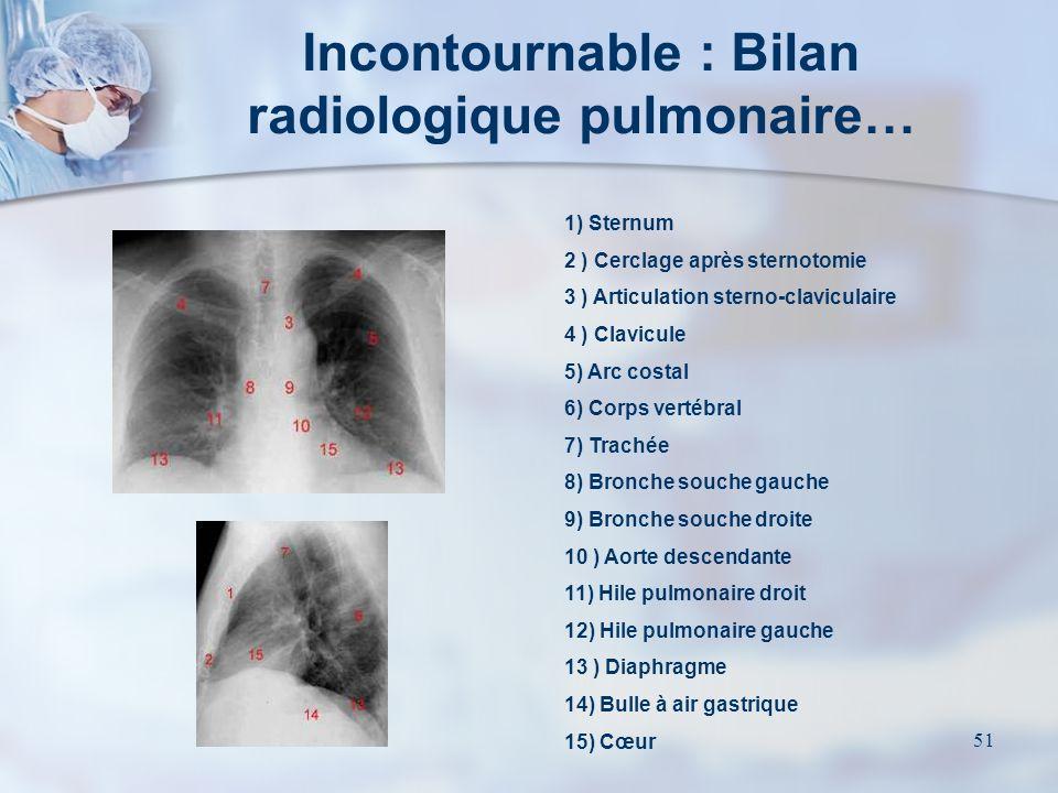 50 IRM cardio-thoracique Scintigraphie ventriculaire GastroscopieElectrocardiogramme Test au Thallium Scanner thoracique Au besoin …