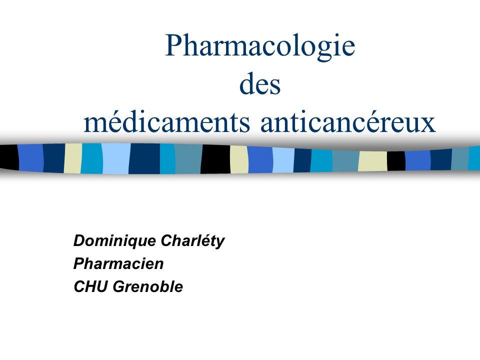 32 Toxicités particulières à chaque médicament cytostatique n Toxicité cardiaque, avec les anthracyclines (doxorubicine, épirubicine…) : risque d IC.