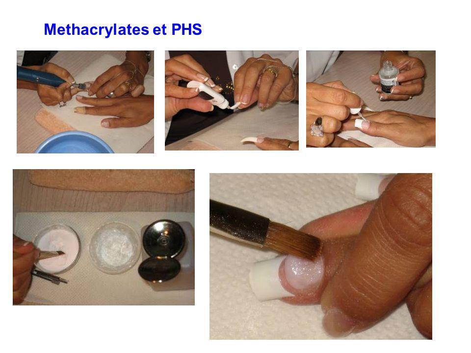 Methacrylates et PHS