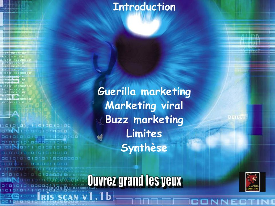 Introduction Guerilla marketing Marketing viral Buzz marketing Limites Synthèse