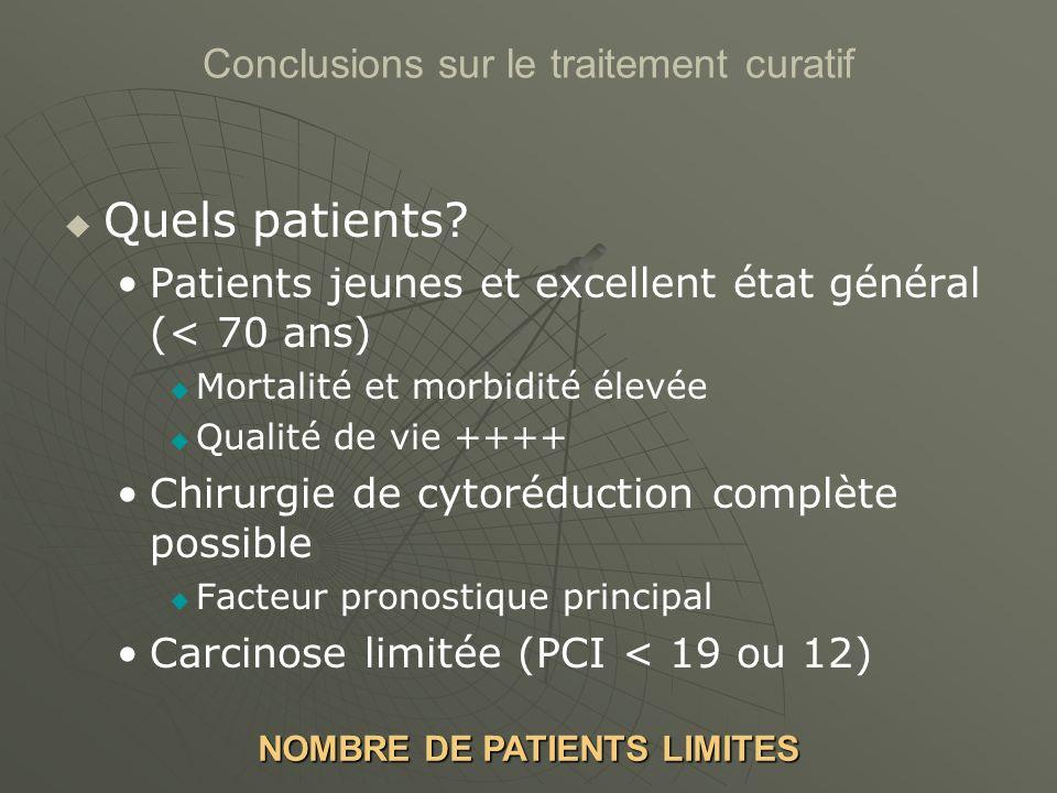 Quels patients.