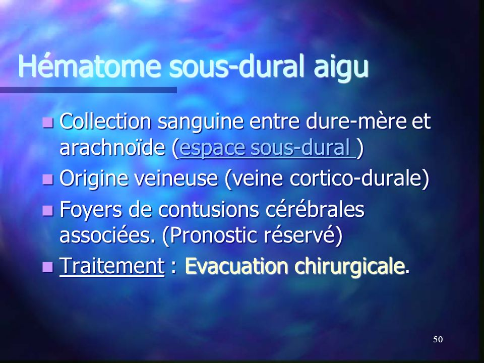 49 Espace extra-dural Espace extra-dural