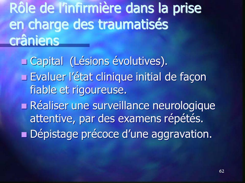 61 Plaies cranio-cérébrales et traumatismes ballistiques
