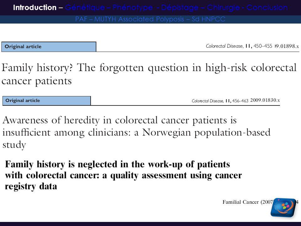 – N=382 patients – Suivi moyen 9 ans (1-40 ans) 332 colectomies segmentaires (87%) vs.