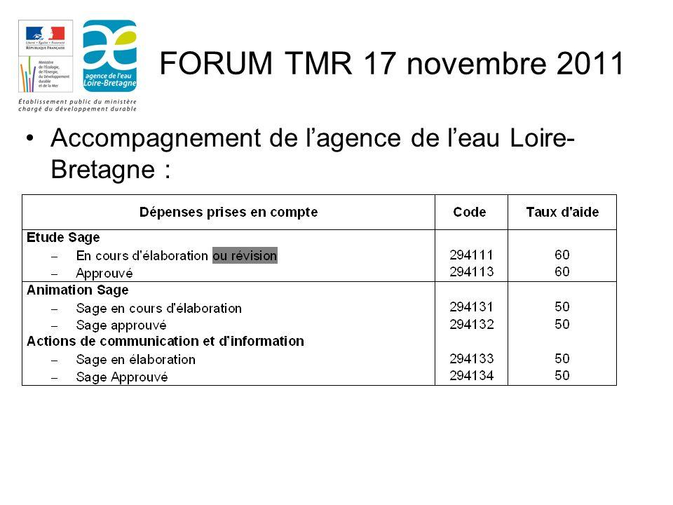 Accompagnement de lagence de leau Loire- Bretagne :