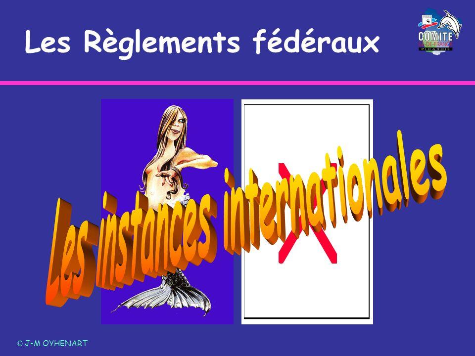 Les Règlements fédéraux © J-M OYHENART