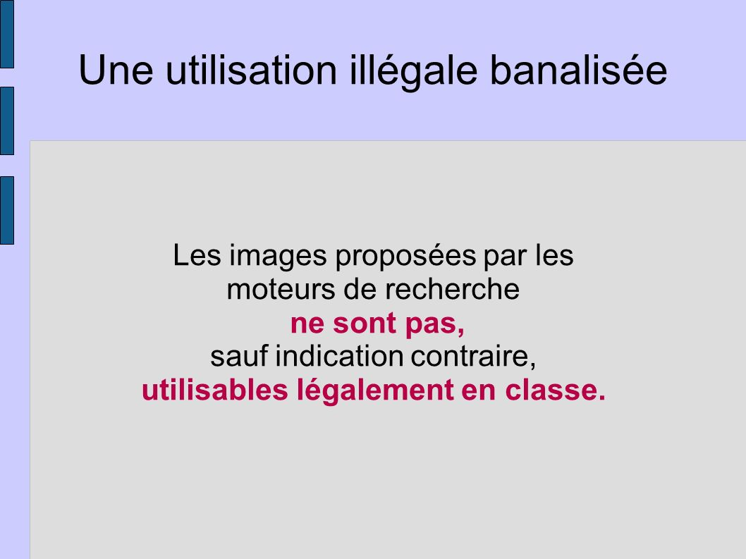 Wikimedia Commons http://commons.wikimedia.org/ wiki/Main_Page Une solution généraliste