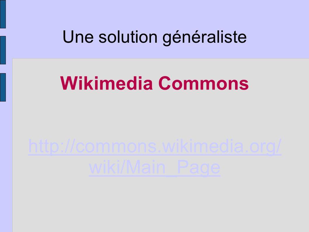 Description - Wikimedia Commons est une médiathèque qui propose des images, des vidéos, des fichiers son, des animations.