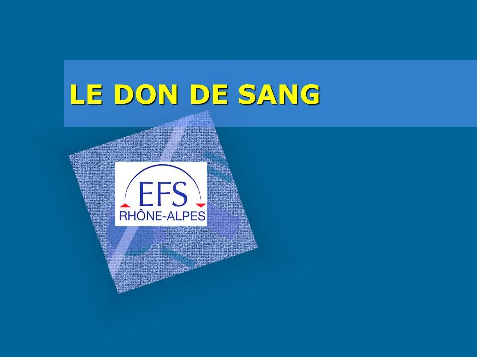 LE DON DE SANG
