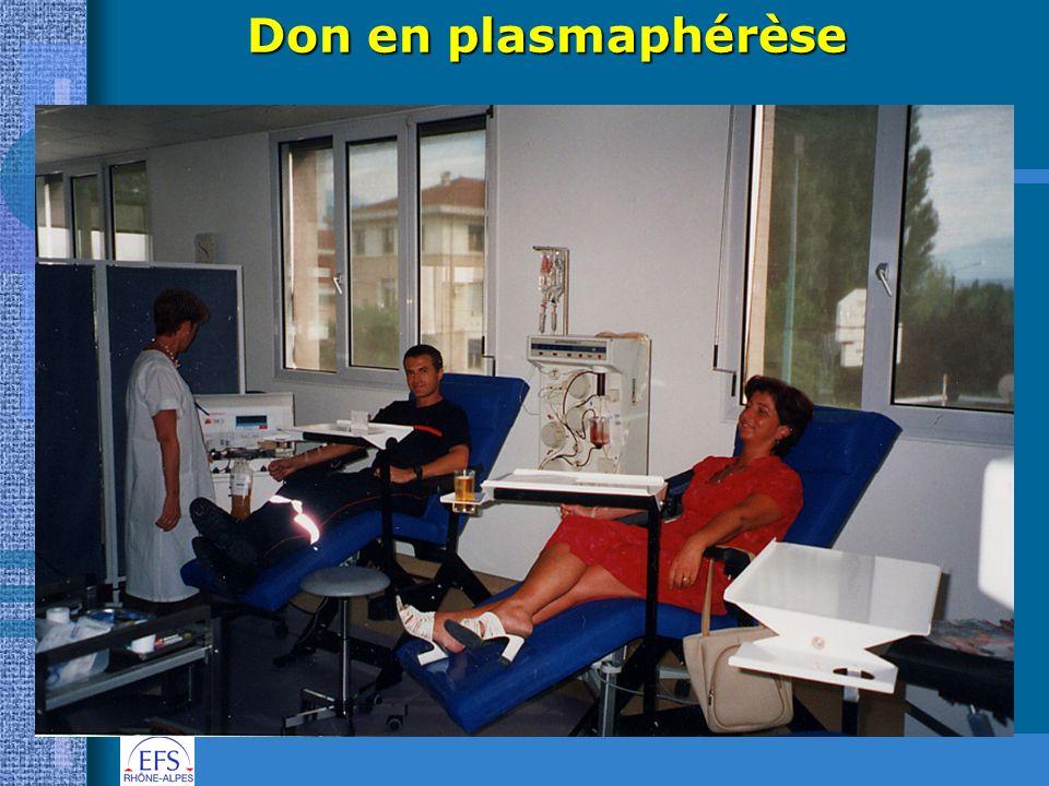 Don en plasmaphérèse