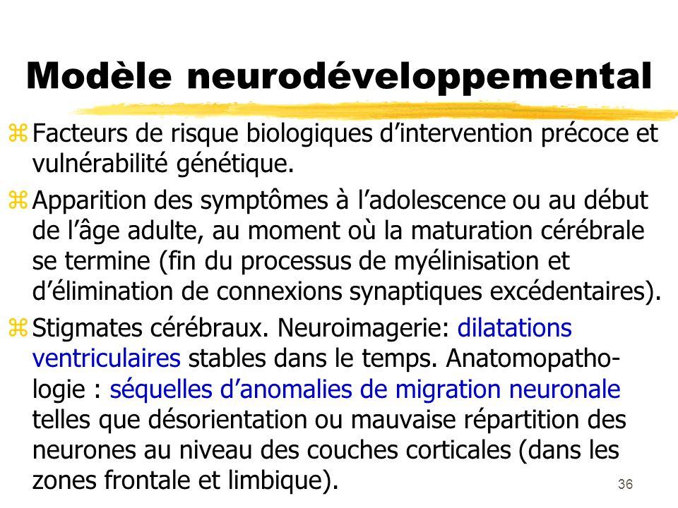 37 Traitement zChimiothérapie : neuroleptiques, antipsychotiques.