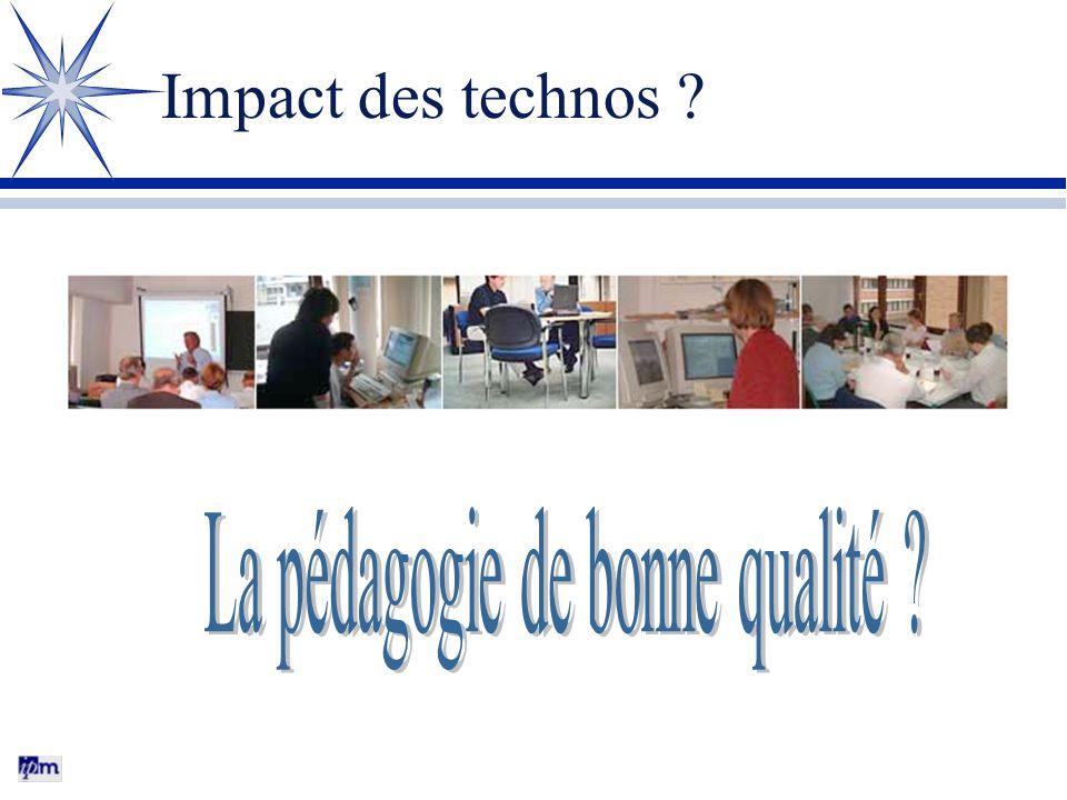 Impact des technos ?