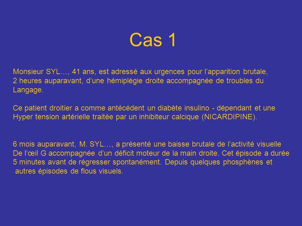 1.a. vertébrale 2. Carotide interne G 3. Tronc basilaire 4.