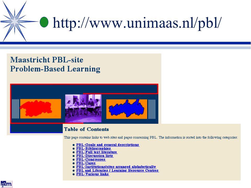 http://www.unimaas.nl/pbl/
