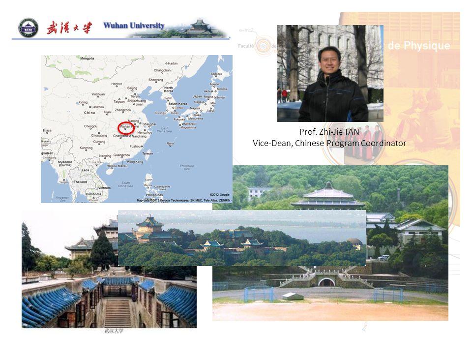 Prof. Zhi-Jie TAN Vice-Dean, Chinese Program Coordinator