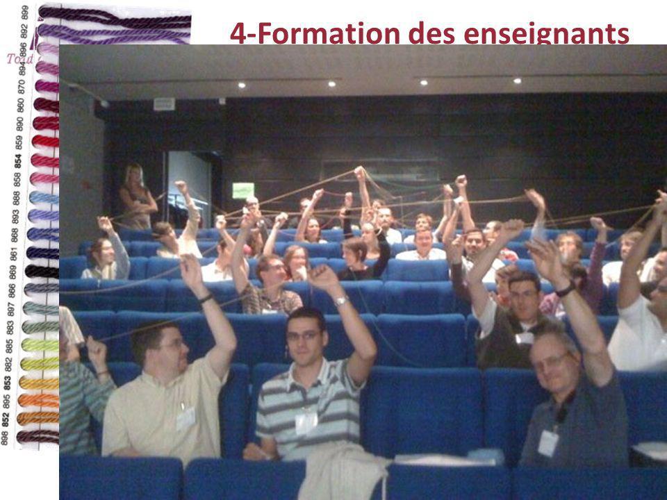 4-Formation des enseignants