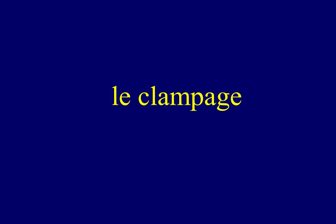 le clampage