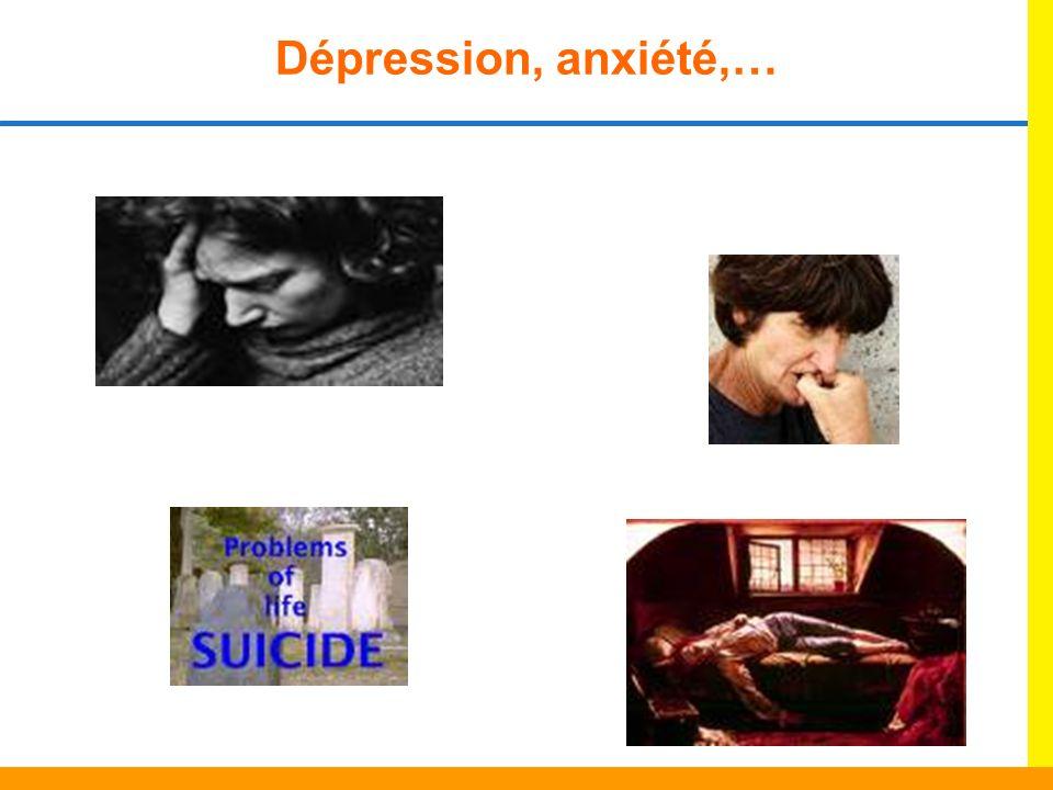 Dépression, anxiété,…