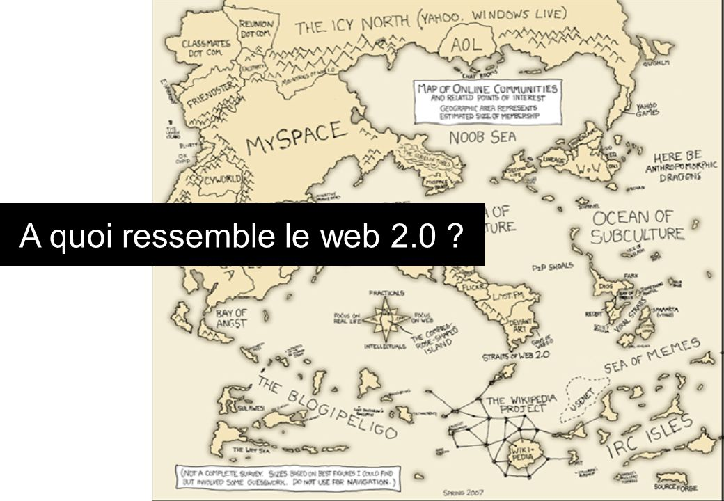 A quoi ressemble le web 2.0 ?