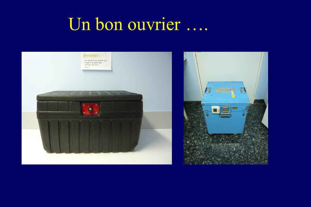 Dans la valise en permanence….