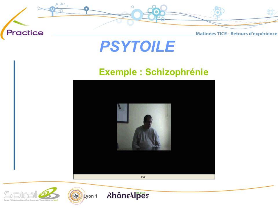 PSYTOILE Exemple : Schizophrénie