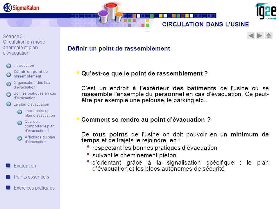 Quest-ce que le point de rassemblement .