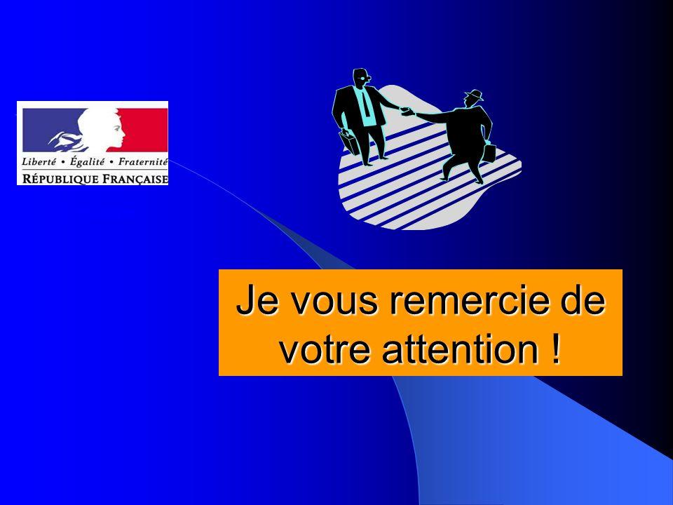 Je vous remercie de votre attention ! DRASS Auvergne